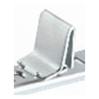 WE Preferred B01-CLP12-174 - Pilaster Clips, Bright Zinc, 1000/Case