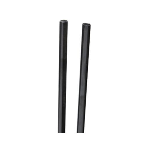 KV 8092SB EB 48, 48 L Pinion Shaft for Pocket Door Slides, Black, Knape and Vogt