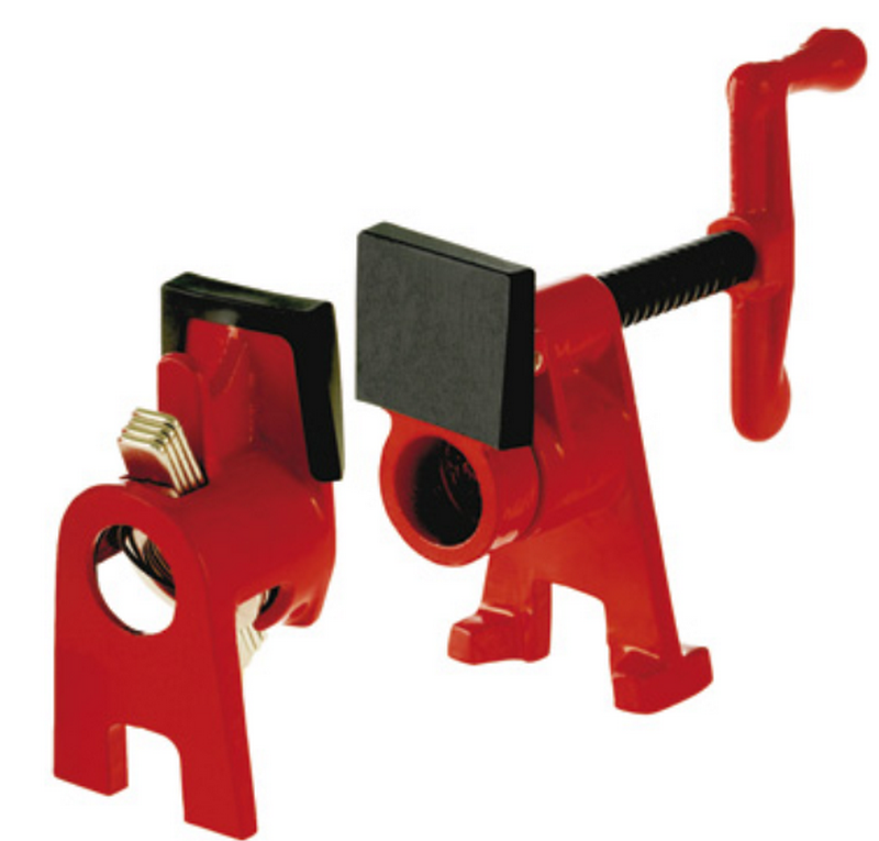 """Bessey BPC-H34, H Style Pipe Clamp, 3/4"""" Pipe dia., 2-1/8"""" Throat"""