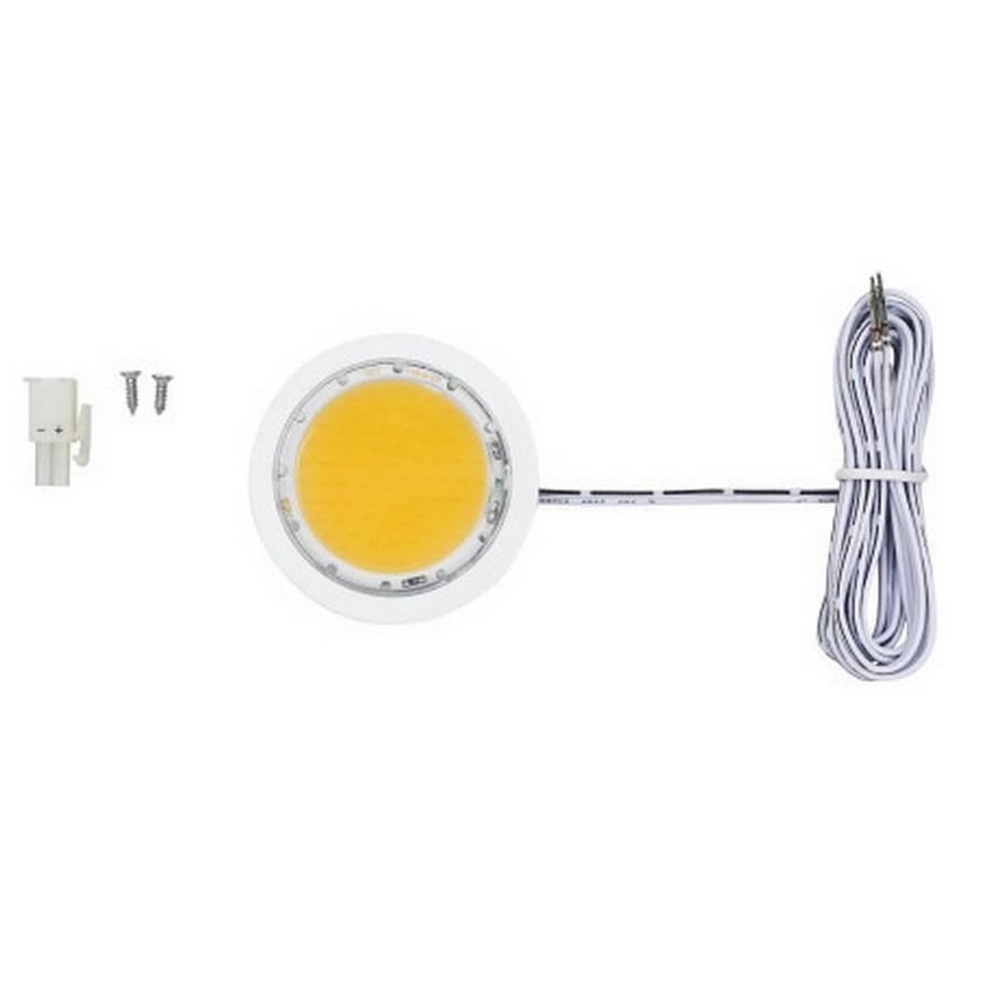 5W Power Pockit LED Puck Light Cool White White Tresco L-POC-5LEDSCL-CWH-1