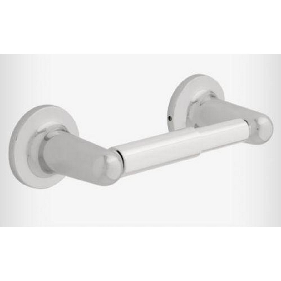 Astra Double Post Tissue Roll Holder Polished Chrome Liberty 127771