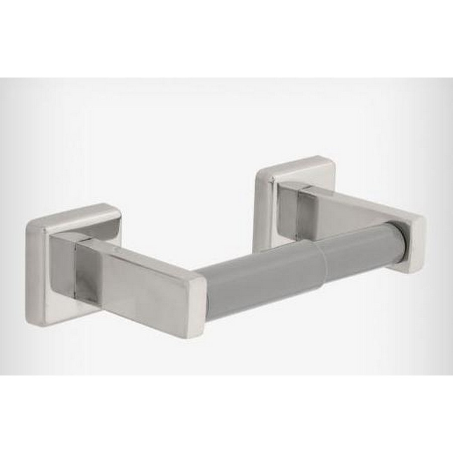 Century Double Post Tissue Roll Holder Bright Stainless Steel Liberty 5508B