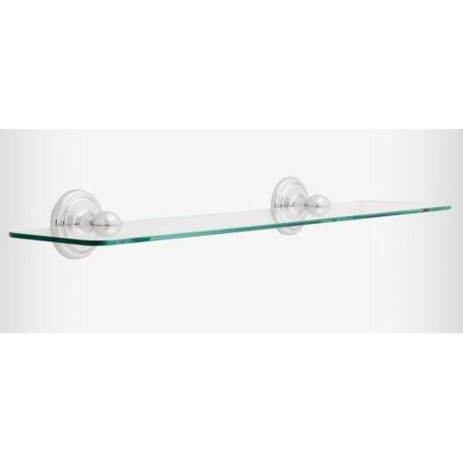 "Jamestown 24"" Glass Shelf Polished Chrome Liberty 9065PC"