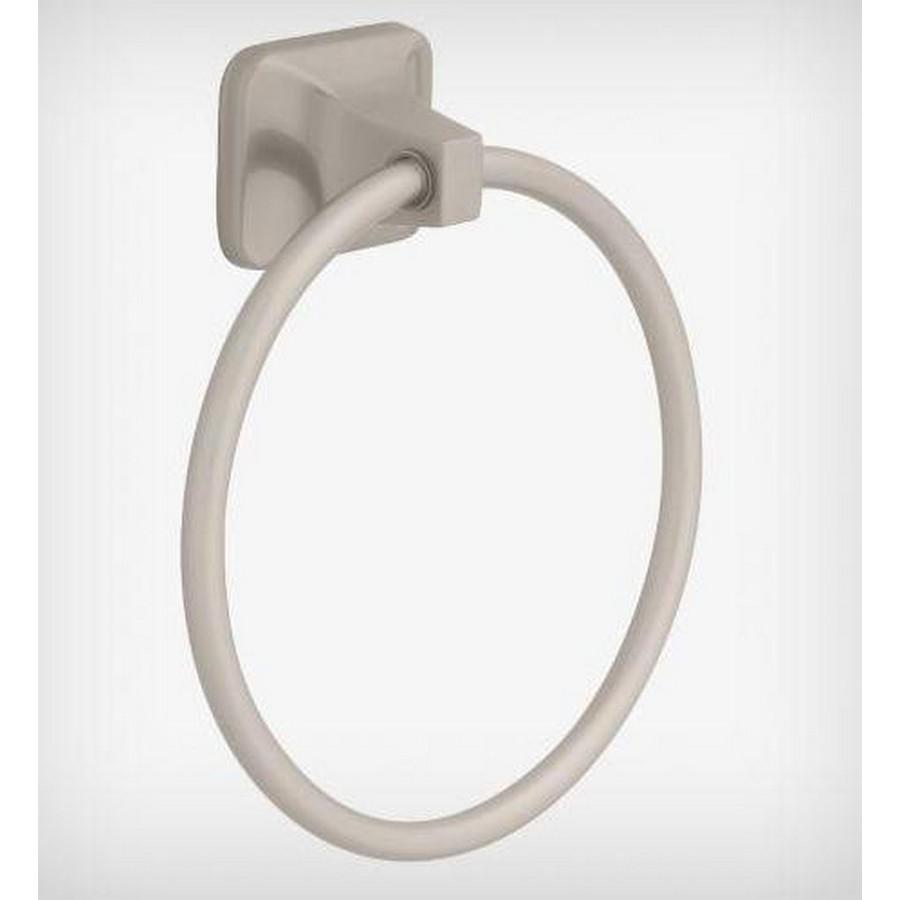 """Futura Towel Ring 5-1/2"""" High Satin Nickel Liberty D2416SN"""