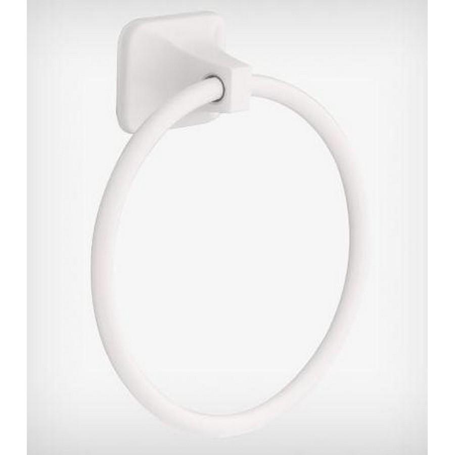 "Futura Towel Ring 5-1/2"" High White Liberty D2416W"