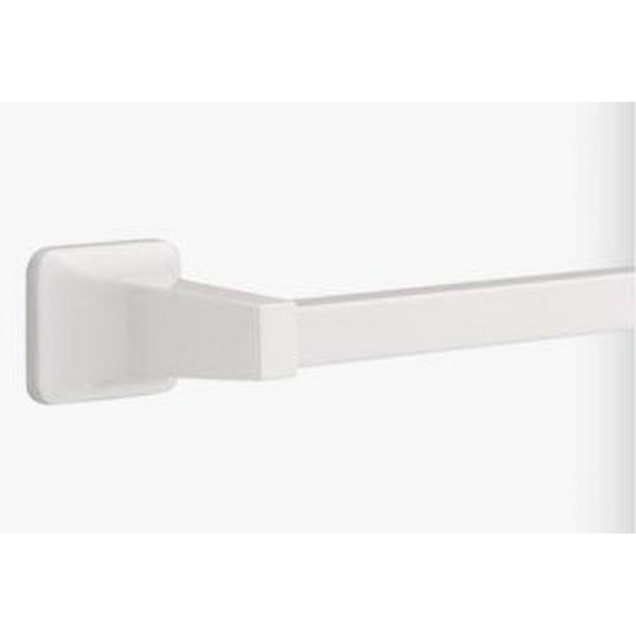 "Futura Single Towel Bar 20"" Long White Liberty D2418W"
