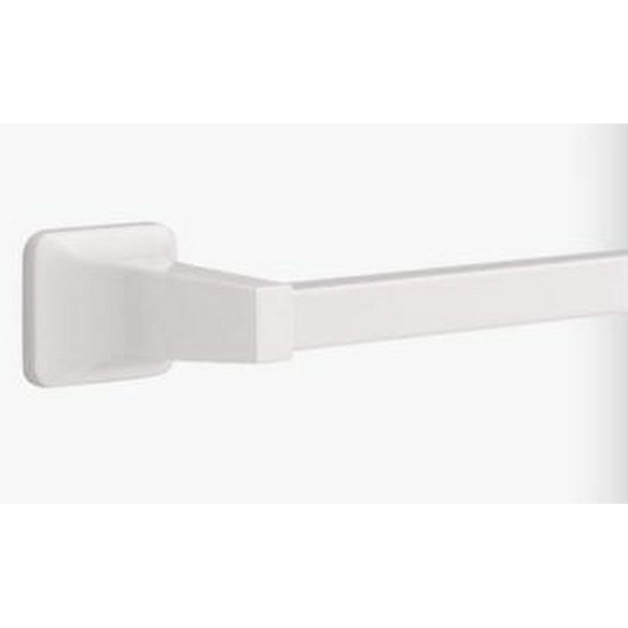 "Futura Single Towel Bar 26"" Long White Liberty D2424W"