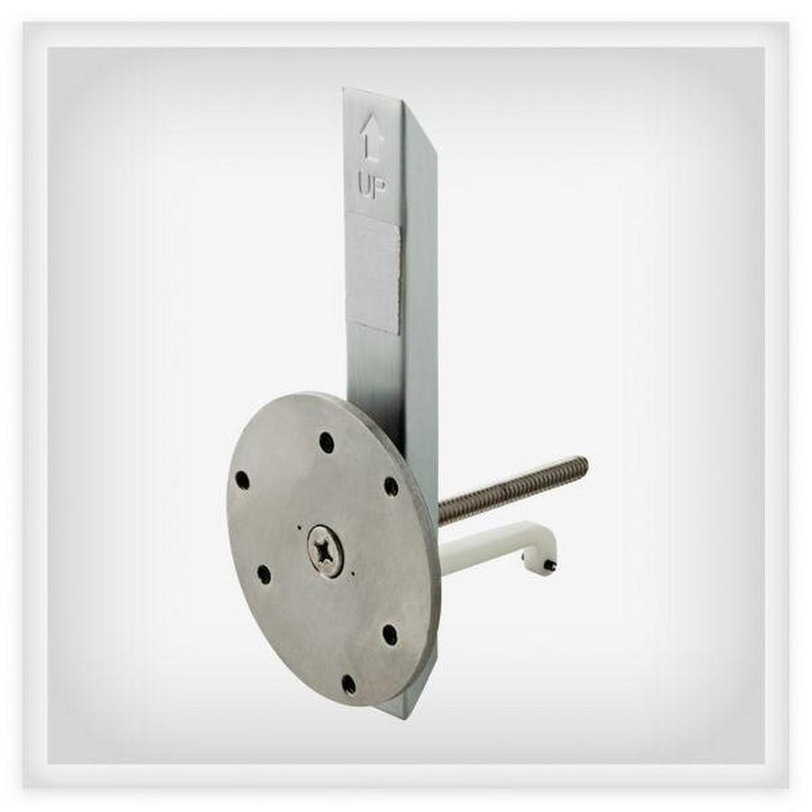 Hollow Wall Grab Bar Anchor Aluminum Liberty FB549