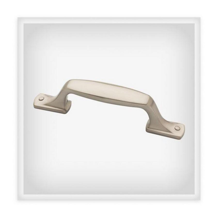 "4-1/2"" Satin Nickel Pull, Classic Edge, Liberty P34932-SN-C"