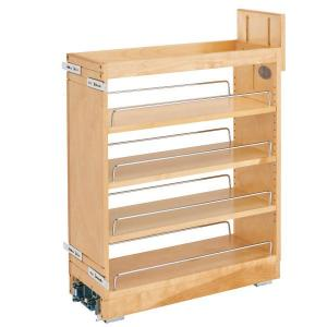 Rev-A-Shelf 448-BCBBSC-8C - 8in Base Cabinet Organizer Ball-Bearing Soft-Close