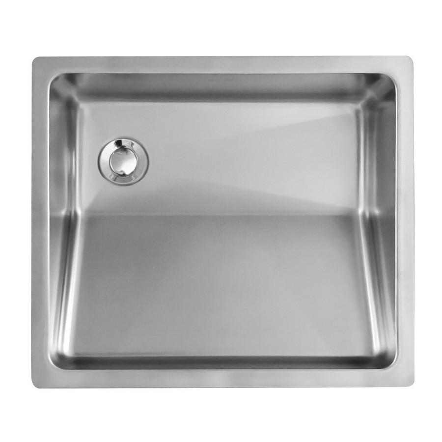 "18"" Undermount Stainless Vanity Sink Karran UV-1816"