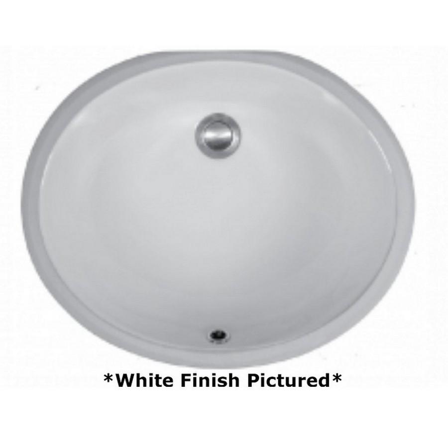 Undermount Vitreous China Vanity Sink Bisque Karran VC-102-BS