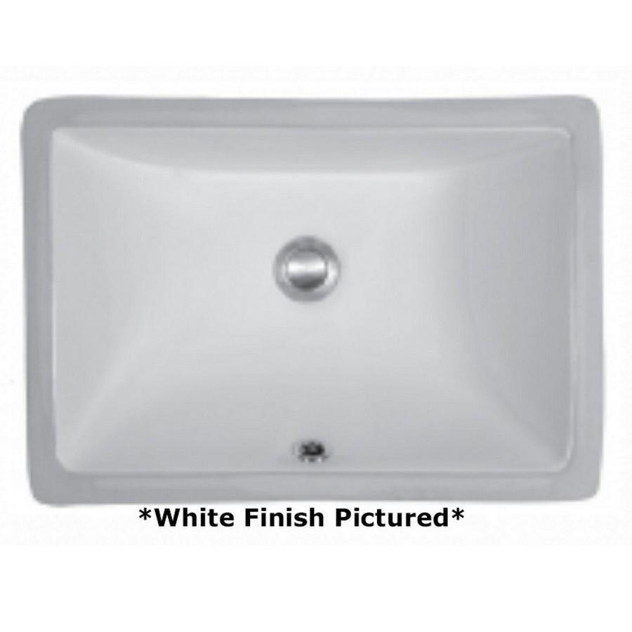 Undermount Vitreous China Vanity Sink White Karran VC-105-WH