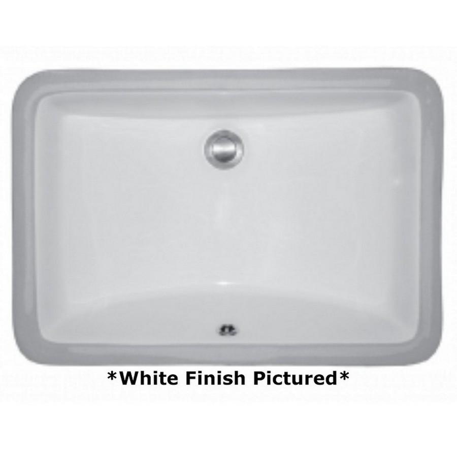 Undermount Vitreous China Vanity Sink White Karran VC-106-WH