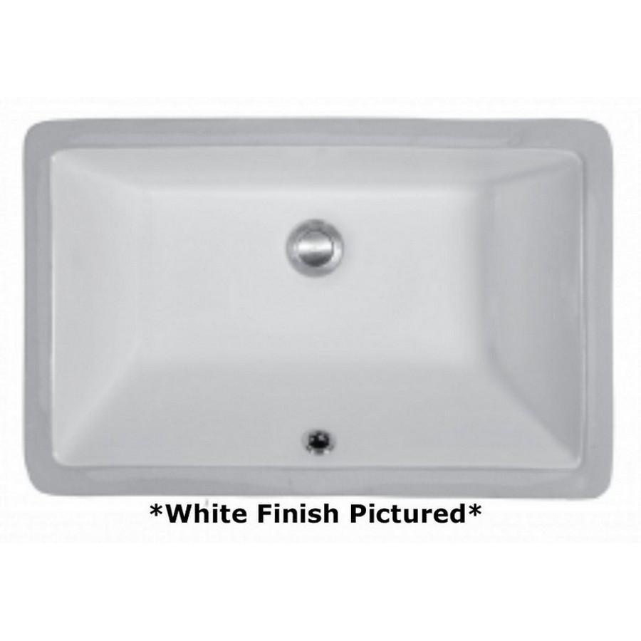 Undermount Vitreous China Vanity Sink White Karran VC-108-WH