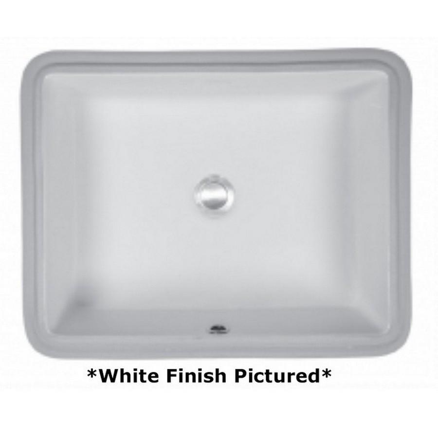 Undermount Vitreous China Vanity Sink White Karran VC-110-WH