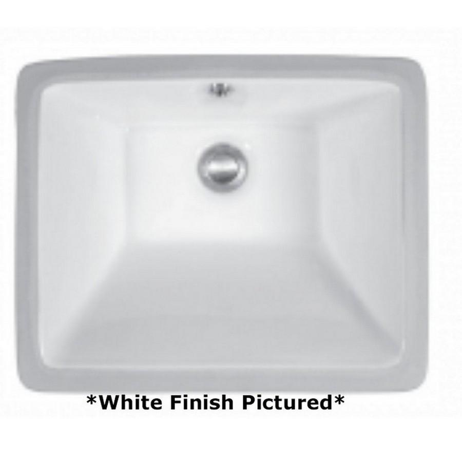 Undermount Vitreous China Vanity Sink White Karran VC-115-WH