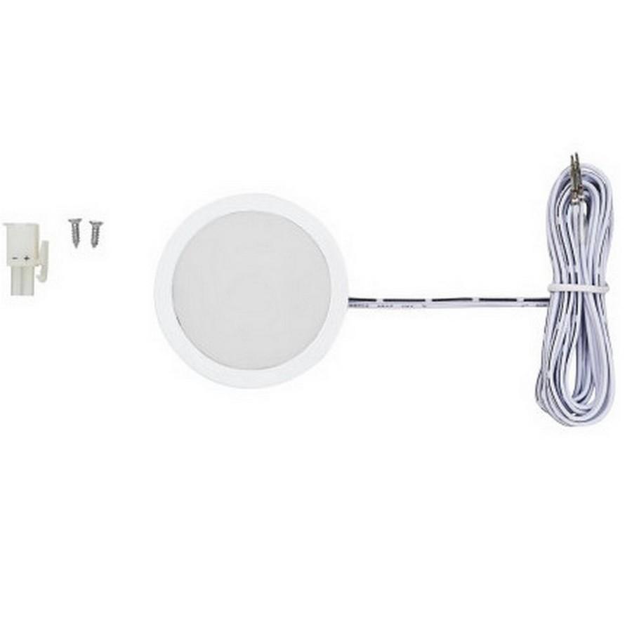 Power Pockit LED Puck Light Warm White White Tresco L-POC-3LEDSFR-WWH-1