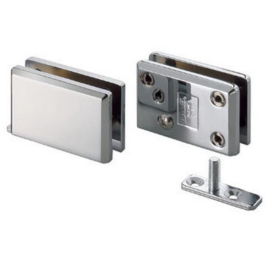 Glass Door Inset Pivot Hinge Chrome Sugatsune XL-GC04-C