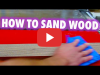 Sanding Sponges and Beyond