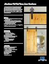 Barn Door Kit Specifications