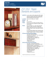 Product Specs KV Pilasters and Clips