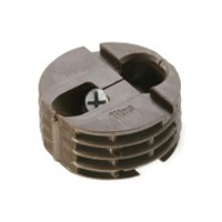 Titus 003118.831.001, System 3 Housing Assembly, 12.5mm Drill Depth, Plastic/Zinc, Dark Brown, 100-piece