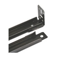Vogt Industries 74BLACK, 22-3/4 Bread Board Slides, 74 Series, Black, Face Frame & Frameless Applications
