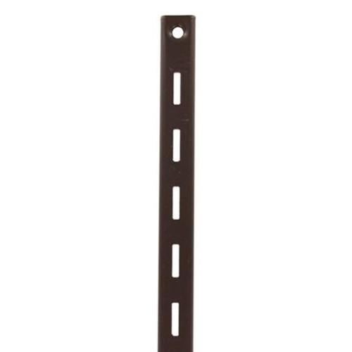 KV 80 BN 48, 48in 80 Series Single Slotted Shelf Standard, Brown, Knape and Vogt