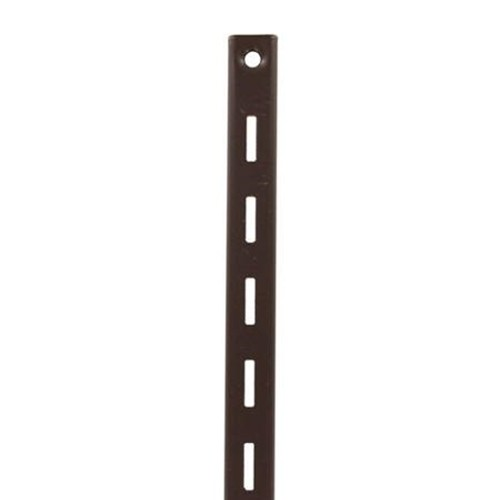 KV 80 BN 72, 72in 80 Series Single Slotted Shelf Standard, Brown, Knape and Vogt