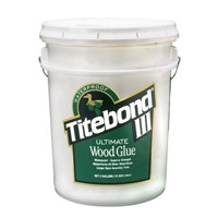 Franklin 1417 5 Gallon Titebond III Ultimate Wood Glue, Waterproof, Tan Color