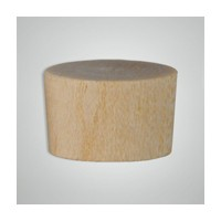 Smith Wood OF0500 Bulk-1000, Wood Screwhole Plugs, Flat Head, 1/2, Oak