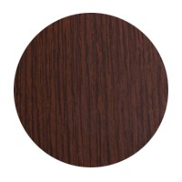 FastCap FC.MB.916.DM Peel and Stick PVC Covercap, Woodgrain PVC, 9/16 Dia, Dark Mahogany, Box 260