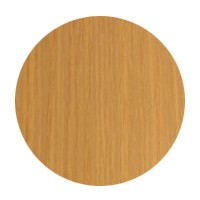 FastCap FC.MB.916.LO Peel & Stick PVC Covercap, Woodgrain PVC, 9/16 dia., Light Oak, Box 260