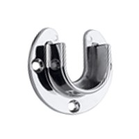 WE Preferred 54133-46-021, 1-5/16 Open Round Flange, Polished Chrome