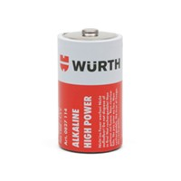 WE Preferred 0827114 961 10 - Batteries, Alkaline Extended Life, D