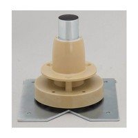 Rev-A-Shelf LD-4BW-004BM1-8 Bulk-8, 4-1/2 Shaft, Bottom Mount Lazy Susan Hardware Component