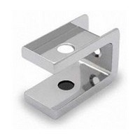 Jacknob 2820, Toilet Door Zamak Mortise Top Insert for 1in Thick Doors, In-Swing & Out-Swing, Chrome