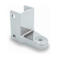 Jacknob 3790, Toilet Door Zamak 110-Degree Mortise Hinge for 7/8 - 1in Thick Doors, In-Swing & Out-Swing, Chrome