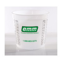 2.5 Quarts Stain/Finish Miscing Cup, Disposable, EMM North America 98002375