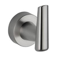 Liberty Hardware 77135-SS, Zinc Robe Hook, Grail Series, Single, 3-1/8 H x 2-15/16 Proj, Brilliance Stainless