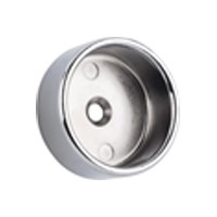 WE Preferred 54231-46-089 1-5/16 Closed Round Flange with Pins, Polished Chrome