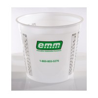 5 Quarts Stain/Finish Mising Cup, Disposable, EMM North America 98004750