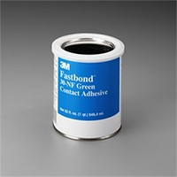 3M 21200211850 1 Quart Bulk Contact Adhesive, Water-based Brush, Roller & Spray Grade, Premium 50% Solids, Blue/Green