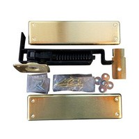 Bommer 7811-633, Spring Pivot Horizontal Type Hinge Kits, Double Acting, Medium Duty, Dull Brass