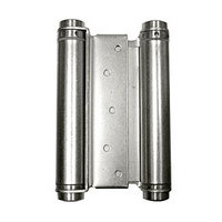 Bommer 3029-6-603, 6in Gate/Spring Hinges, Double Acting for 1-1/4 - 1-3/4 Thick Doors, Dull Zinc