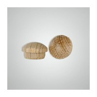Smith Wood SB12B-O, Wood Screwhole Plugs, Mushroom Head, 1/2, Oak, 500 Box