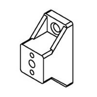 Bainbridge 3602WH-42, 1in Drawer Slide Spacer, White