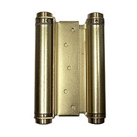 Bommer 3029-6-633, 6in Gate/Spring Hinges, Double Acting for 1-1/4 - 1-3/4 Thick Doors, Dull Brass