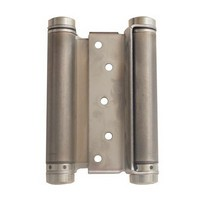 Bommer 3029-6-652, 6in Gate/Spring Hinges, Double Acting for 1-1/4 - 1-3/4 Thick Doors, Dull Chrome